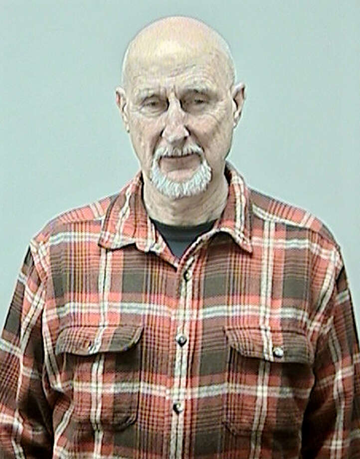 This photo provided by the Dane County Sheriff's Office shows actor James Cromwell, who was arrested Thursday, Feb. 7, 2013 for allegedly disrupting a University of Wisconsin Board of Regents meeting where he was protesting animal testing. University police Sgt. Brent Gruber says the 73-year-old Cromwell was arrested and ticketed on a misdemeanor charge of disorderly conduct. Cromwell and an activist from an animal-rights group also arrested were released from jail by Thursday afternoon. (AP Photo/Dane County Jail) Photo: Uncredited