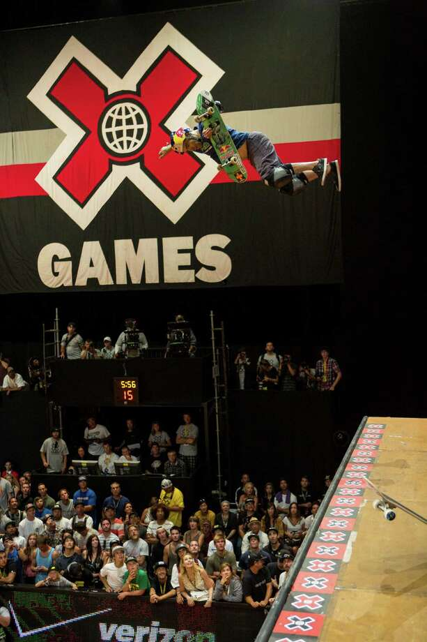 Los Angeles has hosted nine Summer X Games since they began in 1995, and Houston is looking to get in on the action as the site for 2014-16. Photo: Christian Pondella, Contributor / 2012 Christian Pondella