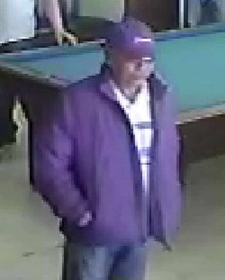 This suspect is described as about 5-6, with a medium build, bald or close cropped hair and wearing a baseball hat.