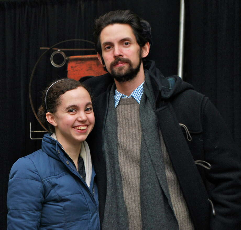 Were you Seen at Albany Center Gallery's ProjectArt exhibition held at the Great Northeast Home Show at the Times Union Center in Albany on Friday, Feb. 8, 2013? Photo: Silvia Meder Lilly