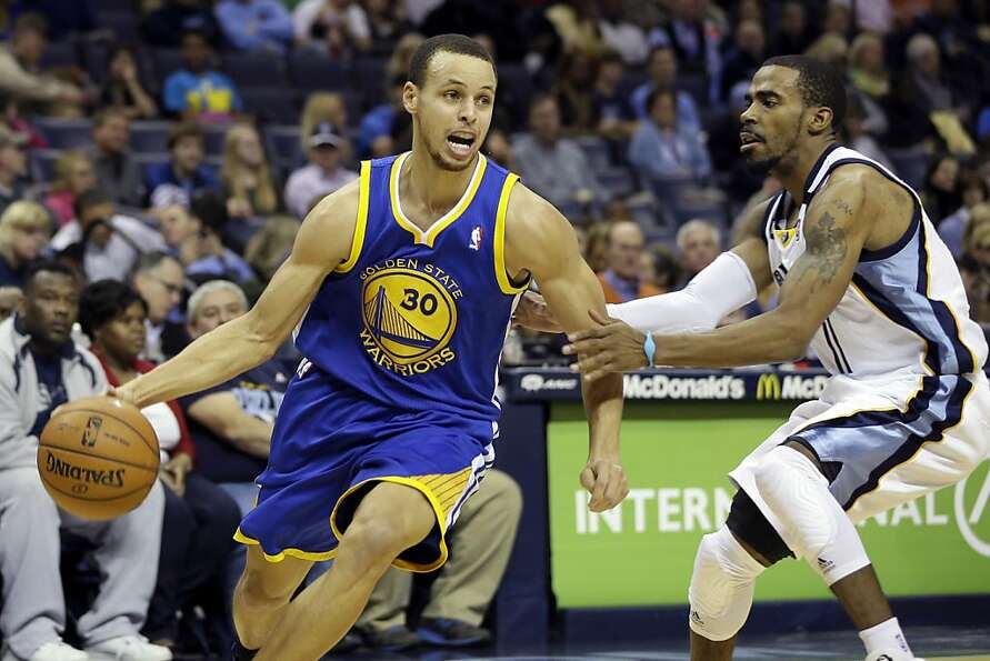 Stephen Curry looked lost against Mike Conley and the Memphis Grizzlies  at crunch time.