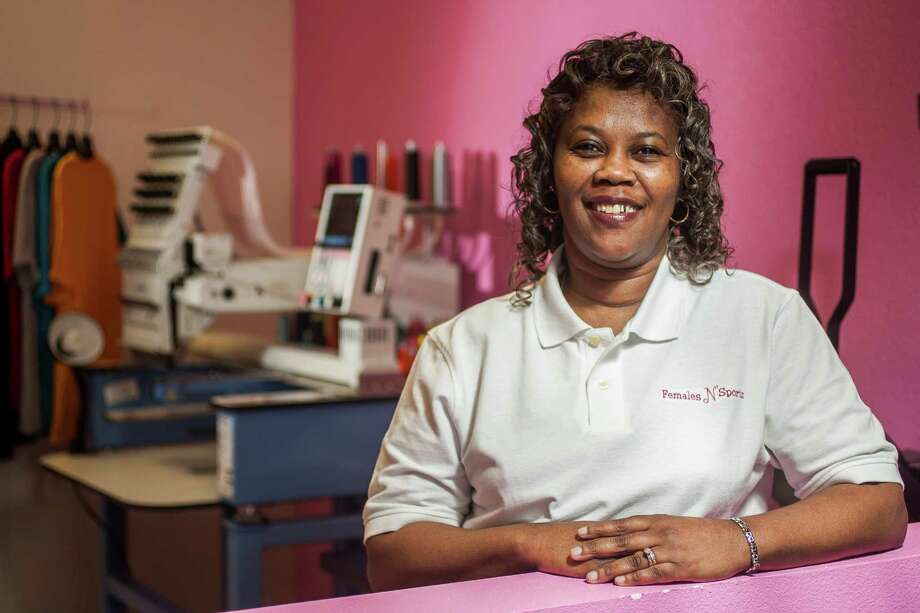Burden started her business in 2004, then revamped it to target high school students in 2010. Photo: Nick De La Torre, Staff / © 2010 Houston Chronicle