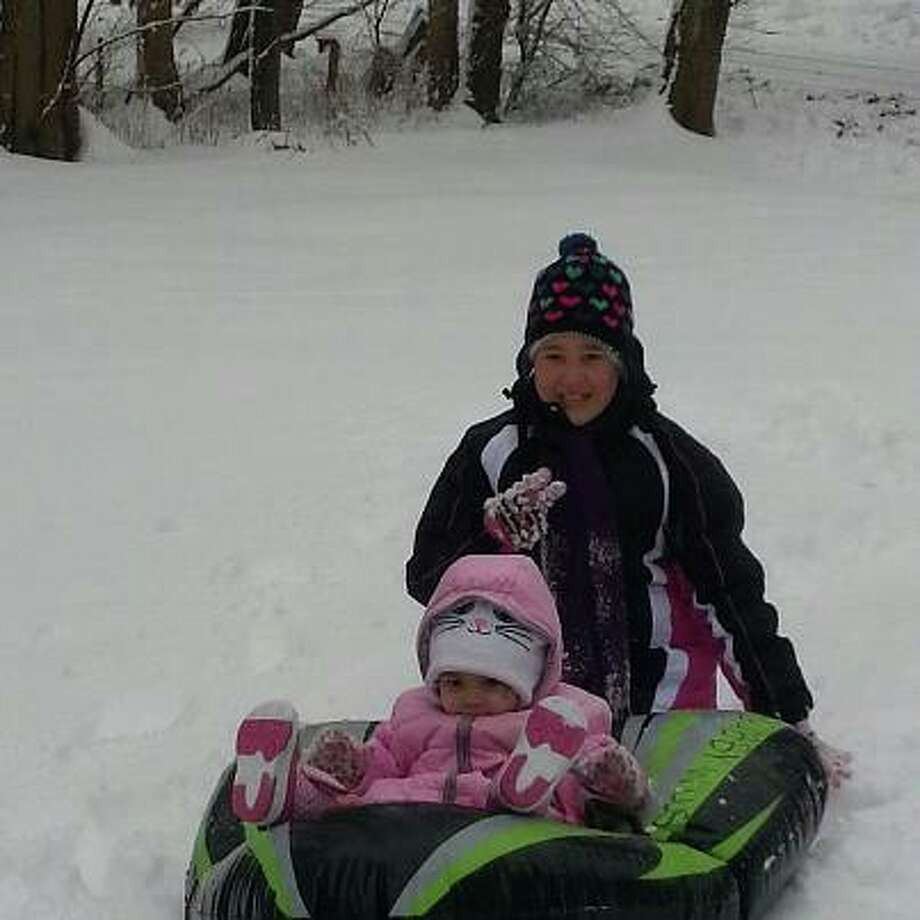 Gabby, Stevie, and Gracie having fun in the snow! (Angel Willis) Photo: (Times Union Reader-submitted)