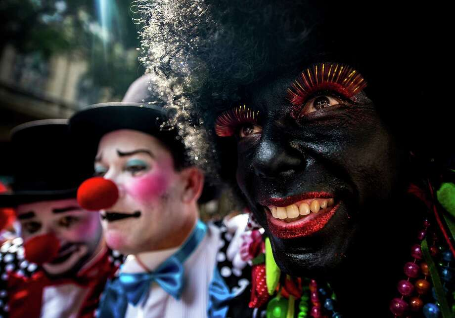 """Over two million people attend the """"Cordao do Bola Preta"""" traditional street carnival parade at Rio Branco avenue on February 09, 2013 in Rio de Janeiro, Brazil. Photo: LatinContent/Getty Images"""