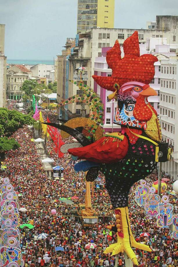 General view of Galo da Madrugada celebration on February 9, 2013 in Recife, Brazil. Photo: LatinContent/Getty Images
