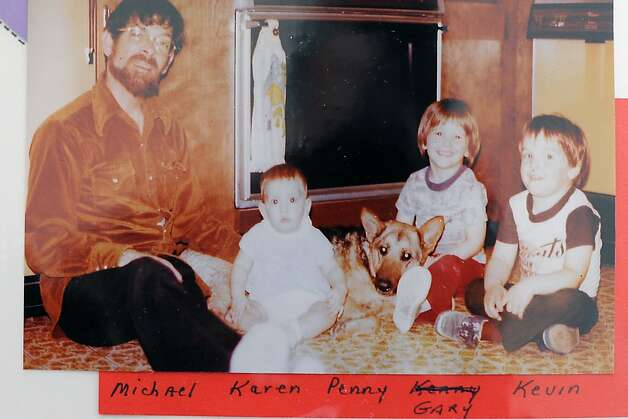 A photograph from 1977 shows Kevin Collins(far right) with his uncle Michael,  cousin Karen, and brother Gary. Courtsey Michael and Jackie Deasy Photo: Michael Short, Special To The Chronicle