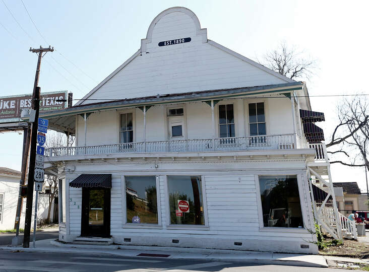Best known as the one-time home of the Liberty Bar, the iconic leaning restaurant at 328 E. J