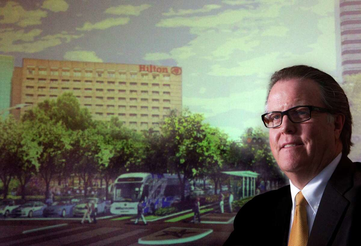 """""""It is very obvious that Metro is not going to be able to build light rail out here for, in my estimate, 20 years,"""" Uptown Houston President John Breeding says."""
