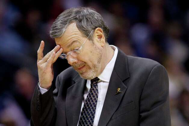 Nets coach P.J. Carlesimo reacts to play during the second half against the Grizzlies in Memphis, Tenn., Friday, Jan. 25, 2013. The Grizzlies defeated the Nets 101-77. Photo: Danny Johnston, Associated Press / AP
