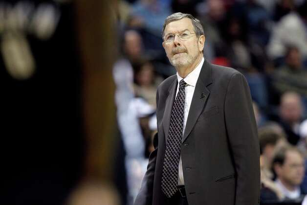 Nets coach P.J. Carlesimo watches during the first half against the Memphis Grizzlies in Memphis, Tenn., Friday, Jan. 25, 2013. Photo: Danny Johnston, Associated Press / AP