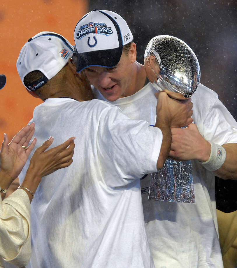 1 titles, 24 contested (NFL, NBA)The Indianapolis Colts won the Super Bowl in 2006. Photo: Robert Duyos, MCT / South Florida Sun-Sentinel
