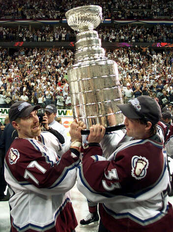 1 titles, 47 contested (NFL, MLB, NBA, NHL)The Colorado Avalanche won the Stanley Cup in 2000-2001. Photo: RYAN REMIORZ, AP / CP
