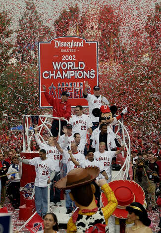 2 titles, 23 contested (MLB, NHL)The Los Angeles Angels won the World Series in 2002. The Mighty Ducks won the Stanley Cup in 2006-2007. Photo: KEVORK DJANSEZIAN, AP / AP