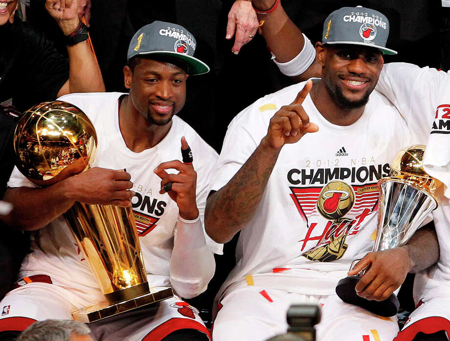3 titles, 47 contested (NFL, MLB, NHL, NBA)The Miami Heat won the NBA Finals in the 2005-2006 and 2011-2012 seasons. The Florida Marlins won the World Series in 2003. Photo: Lynne Sladky, Associated Press / AP