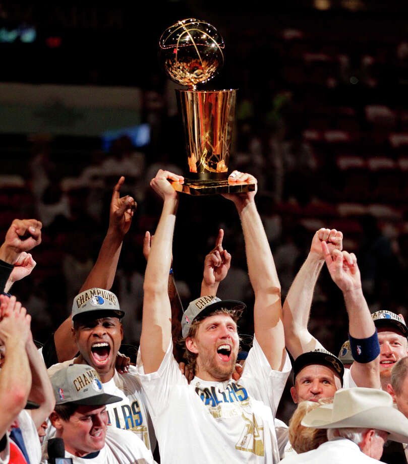 1 titles, 47 contested (NFL, MLB, NBA, NHL)The Dallas Mavericks won the NBA Finals in 2010-2011. Photo: Al Diaz, McClatchy-Tribune News Service / Miami Herald