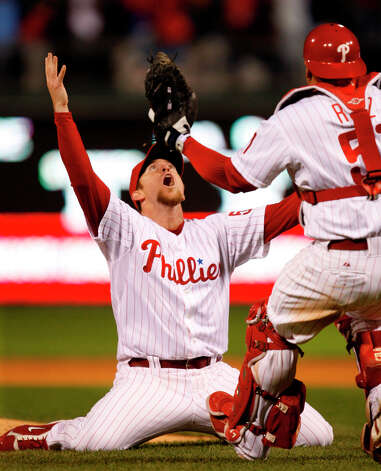 1 titles, 47 contested (NFL, MLB, NBA, NHL)The Philadelphia Phillies won the 2008 World Series. Photo: Chris O'Meara, AP / AP