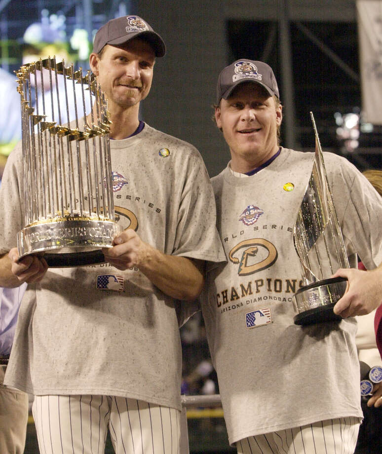 1 titles, 47 contested (NFL, MLB, NBA, NHL)The Arizona Diamondbacks won the 2001 World Series. Photo: DAVID J. PHILLIP, AP / AP