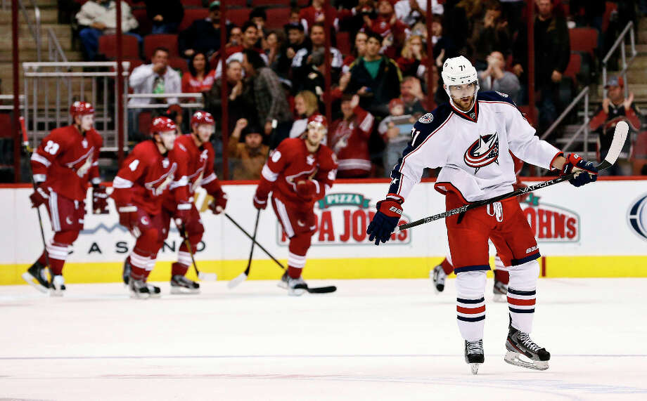 0 titles, 11 contested (NHL)The Columbus Blue Jackets were founded in 2000 and qualified for the Stanley Cup playoffs only once - in 2009. They were swept by the Detroit Red Wings in the first round. Photo: Ross D. Franklin, Associated Press / AP