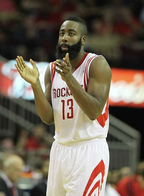James Harden might have the All-Star power to attract a complement or two, but the Rockets would have to show the willingness to make the deal. Photo: Karen Warren, Staff / © 2012  Houston Chronicle