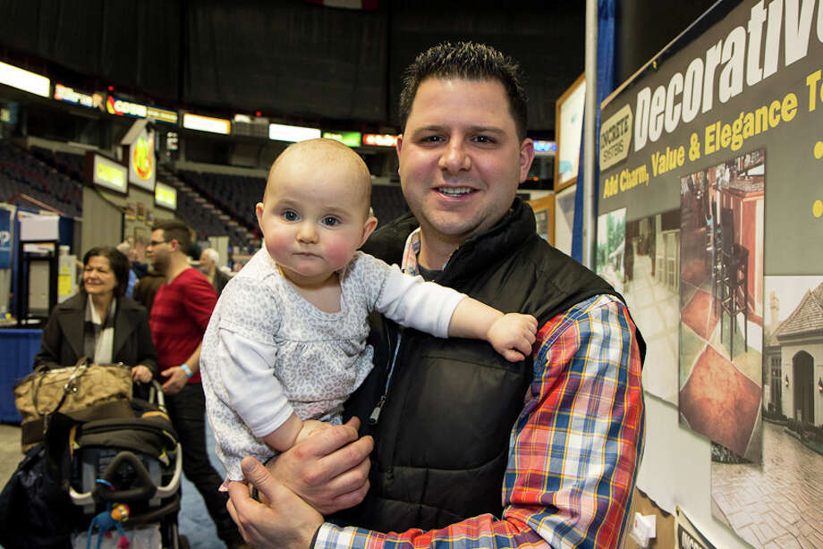 Were you Seen at the 33rd Annual Great Northeast Home Show at  the Times Union Center and Empire State Plaza in Albany on Saturday,  February 9, 2013? The event continues 10 am to 5 pm Sunday. More  information. Photo: Brian Tromans