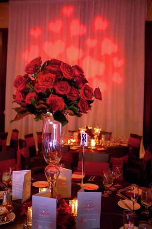 A scene from the Houston Heart Ball at the Hilton Americas Houston Saturday, February 9, 2013 in Houston. Photo: Alyssa Orr, Houston Chronicle / © 2013 Alyssa Orr