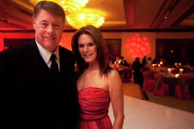 Clayton Cooke and wife Connie Reeves Cooke during the Houston Heart Ball at the Hilton Americas Houston Saturday, February 9, 2013 in Houston. Photo: Alyssa Orr, Houston Chronicle / © 2013 Alyssa Orr