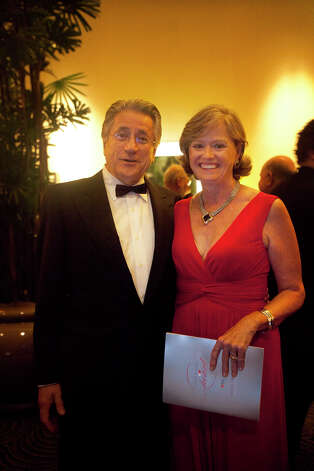 George and Lynn Schroth during the Houston Heart Ball at the Hilton Americas Houston Saturday, February 9, 2013 in Houston. Photo: Alyssa Orr, Houston Chronicle / © 2013 Alyssa Orr