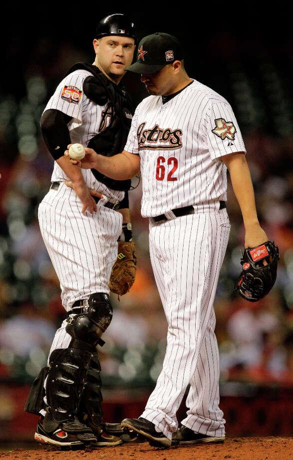PITCHERS Hector Ambriz (RHP)  Photo: Melissa Phillip / © 2012 Houston Chronicle