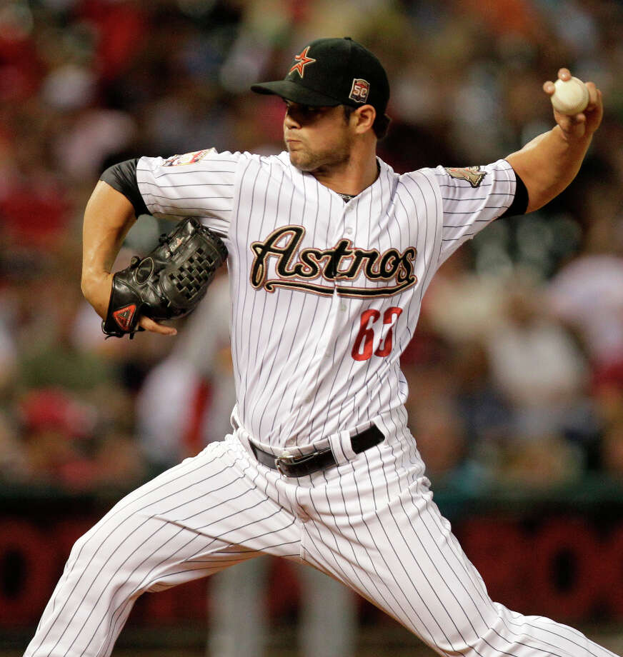 Xavier Cedeno (LHP)  Photo: Melissa Phillip / © 2012 Houston Chronicle