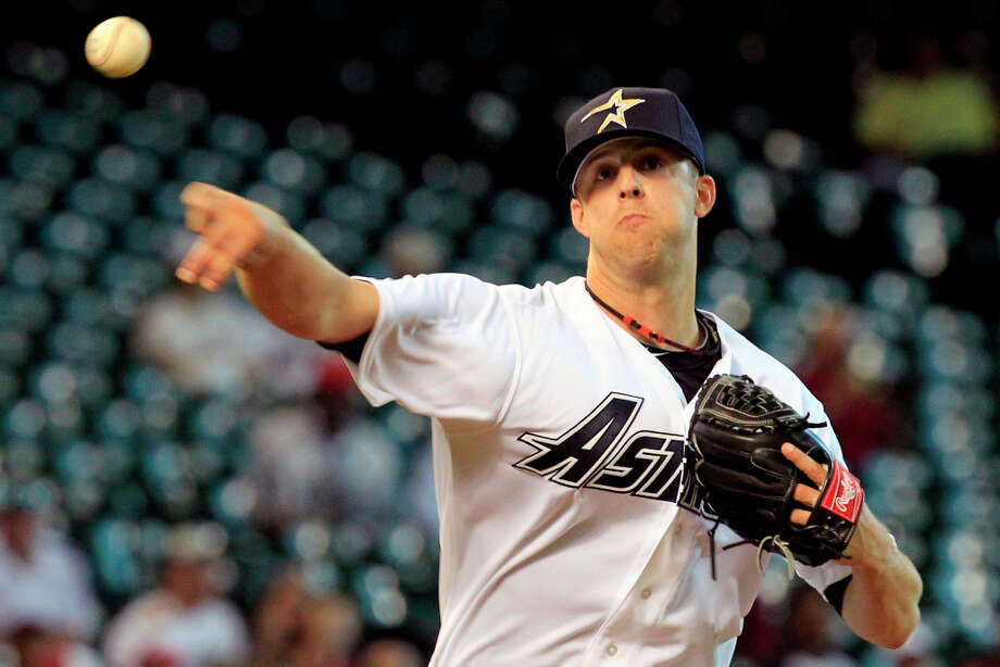 Jordan Lyles (RHP)  Photo: Cody Duty / © 2011 Houston Chronicle