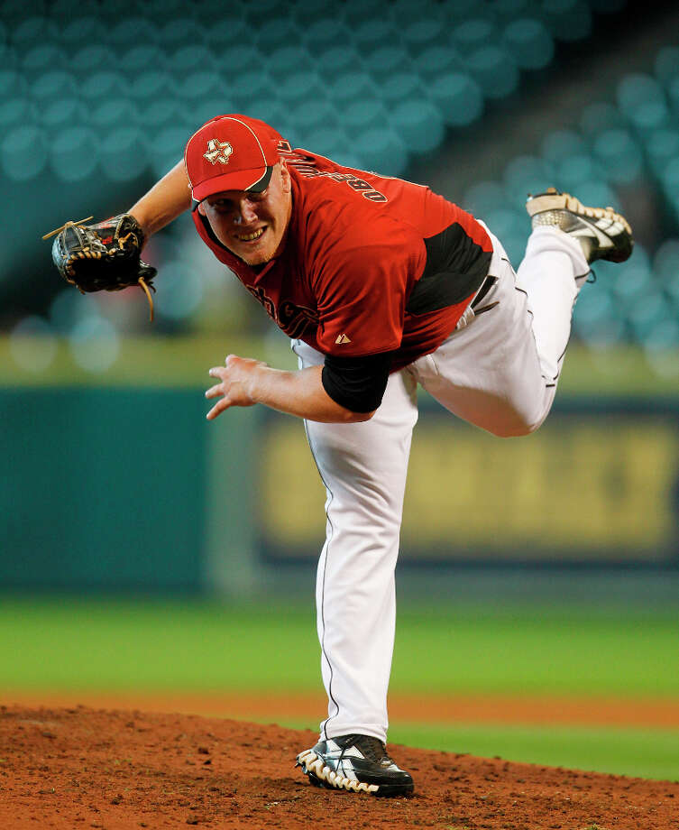 Brett Oberholtzer (LHP)  Photo: Karen Warren / © 2012  Houston Chronicle