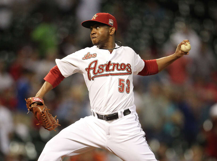 Wesley Wright (LHP)  Photo: Karen Warren / © 2012  Houston Chronicle
