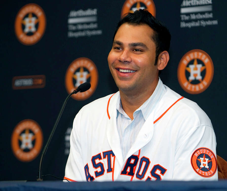Carlos Pena (1B/DH)  Photo: James Nielsen / © Houston Chronicle 2012