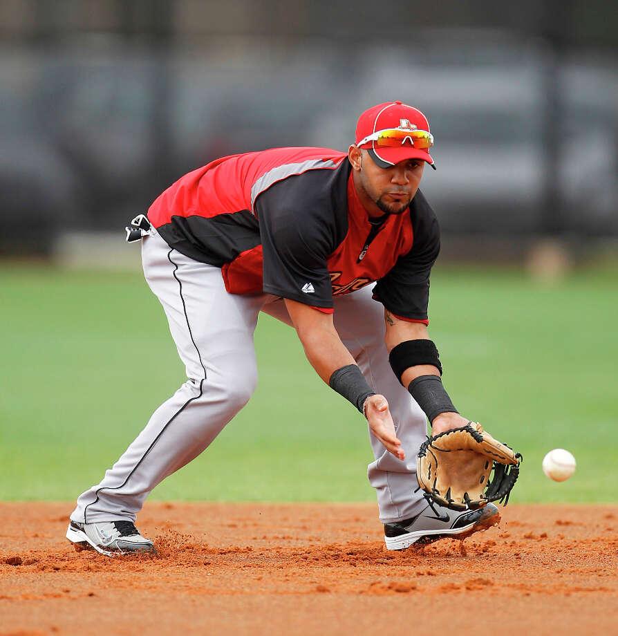 Jonathan Villar (SS)  Photo: Karen Warren / © 2012  Houston Chronicle