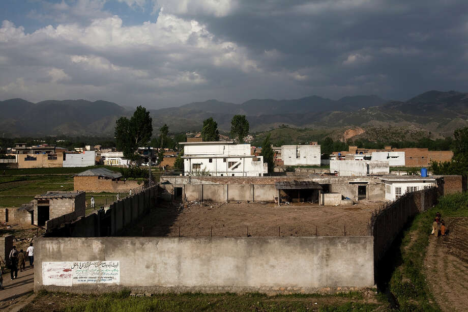 The compound where Osama Bin Laden was killed in an operation by US Navy Seals, is seen on May 4, 2011, in Abottabad, Pakistan. Bin Laden was killed during a U.S. military mission on May 2, at the compound. The Obama administration have decided not to release photographs of Bin Laden's body. Photo: Warrick Page, Getty Images / 2011 Warrick Page