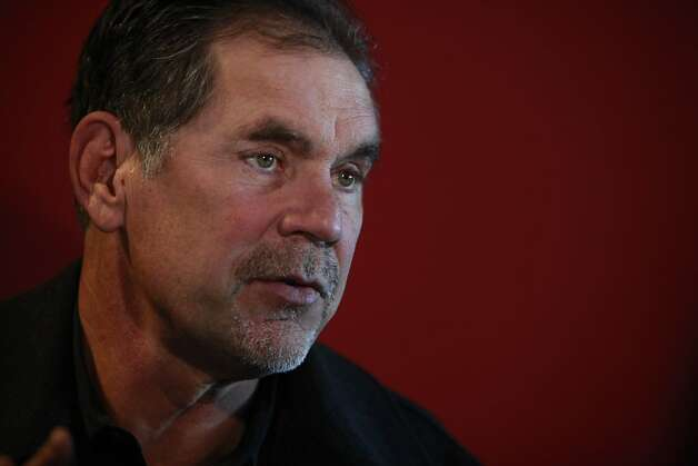 Giants' manager Bruce Bochy talks to the media during FanFest media day at AT&T Park on Friday, February 8, 2013 in San Francisco, Calif. Photo: Lea Suzuki, The Chronicle