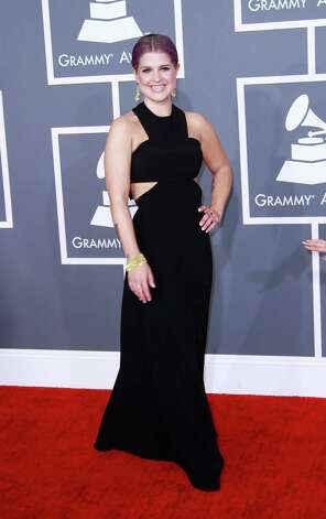 Worst: Kelly Osbourne's black horse-collar dress: grim scary tale. Photo: Kirk McKoy, McClatchy-Tribune News Service / Los Angeles Times