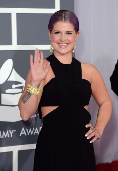 TV personality Kelly Osbourne arrives at the 55th Annual GRAMMY Awards at Staples Center on February