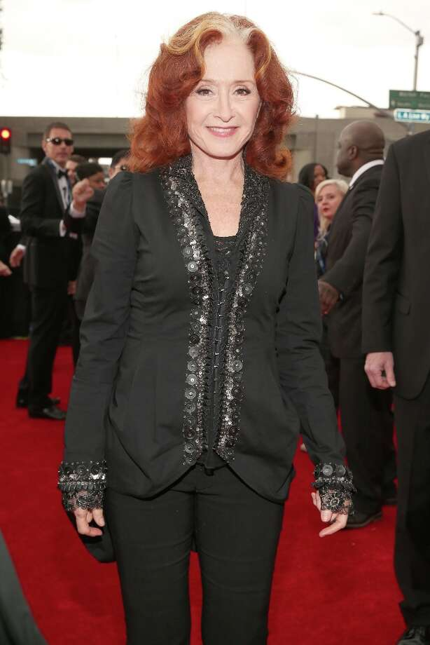 Singer Bonnie Raitt attends the 55th Annual GRAMMY Awards at STAPLES Center on February 10, 2013 in Los Angeles, California. Photo: Christopher Polk, Getty Images For NARAS / 2013 Getty Images