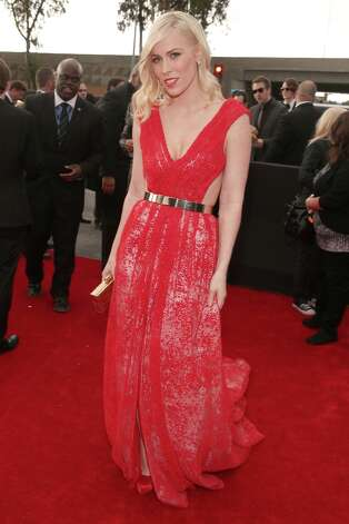 Singer Natasha Bedingfield attends the 55th Annual GRAMMY Awards at STAPLES Center on February 10, 2013 in Los Angeles, California. Photo: Christopher Polk, Getty Images For NARAS / 2013 Getty Images