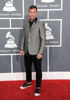 Kaskade arrives at the 55th annual Grammy Awards on Sunday, Feb. 10, 2013, in Los Angeles.  (Photo by Jordan Strauss/Invision/AP) Photo: Jordan Strauss, Associated Press / Invision