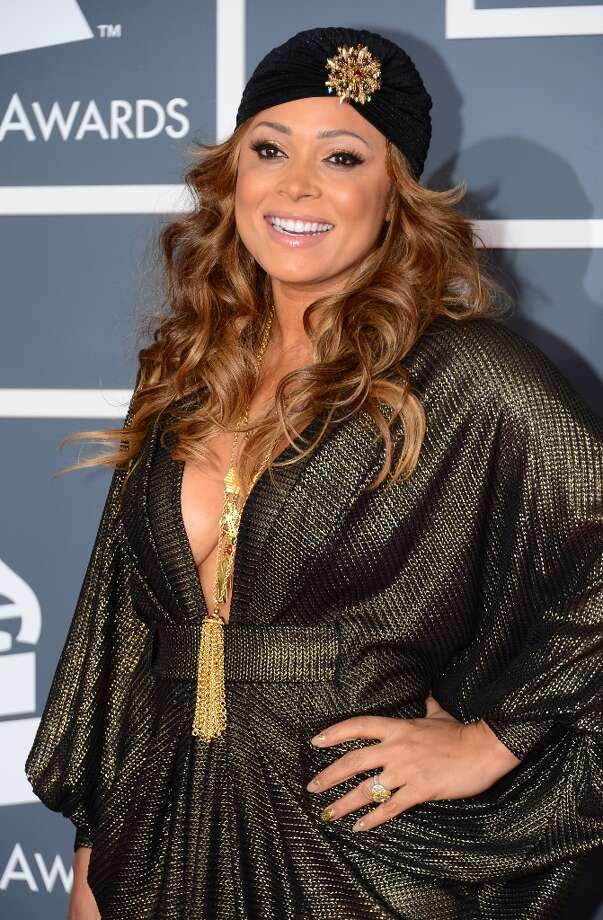 Nominee for Best R&B Song and Best R&B Album Tamia arrives at the Staples Center for the 55th Grammy Awards in Los Angeles, California, February 10, 2013. AFP PHOTO Frederic J. BROWN Photo: FREDERIC J. BROWN, AFP/Getty Images / AFP