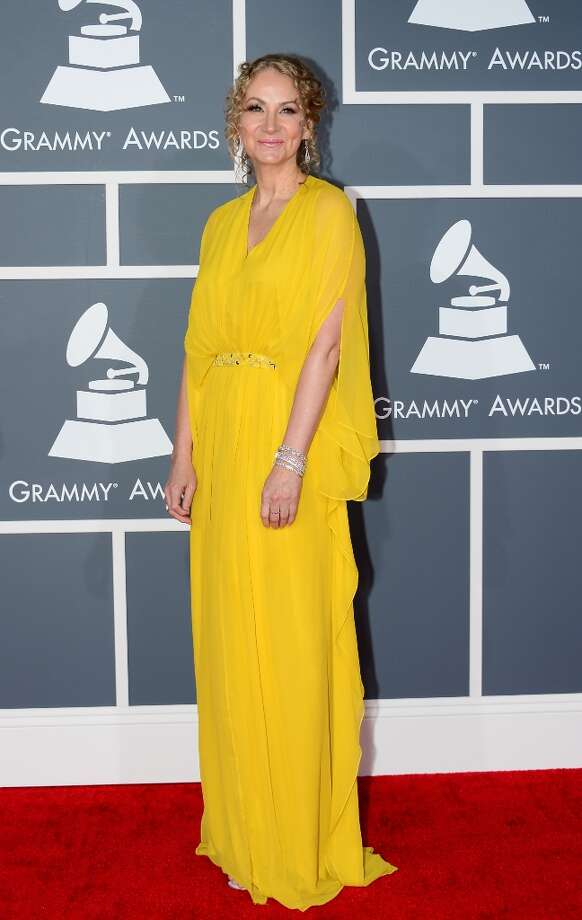 Nominee for Best Blues Album Joan Osborne  arrives at the Staples Center for the 55th Grammy Awards in Los Angeles, California, February 10, 2013. AFP PHOTO Frederic J. BROWN Photo: FREDERIC J. BROWN, AFP/Getty Images / AFP