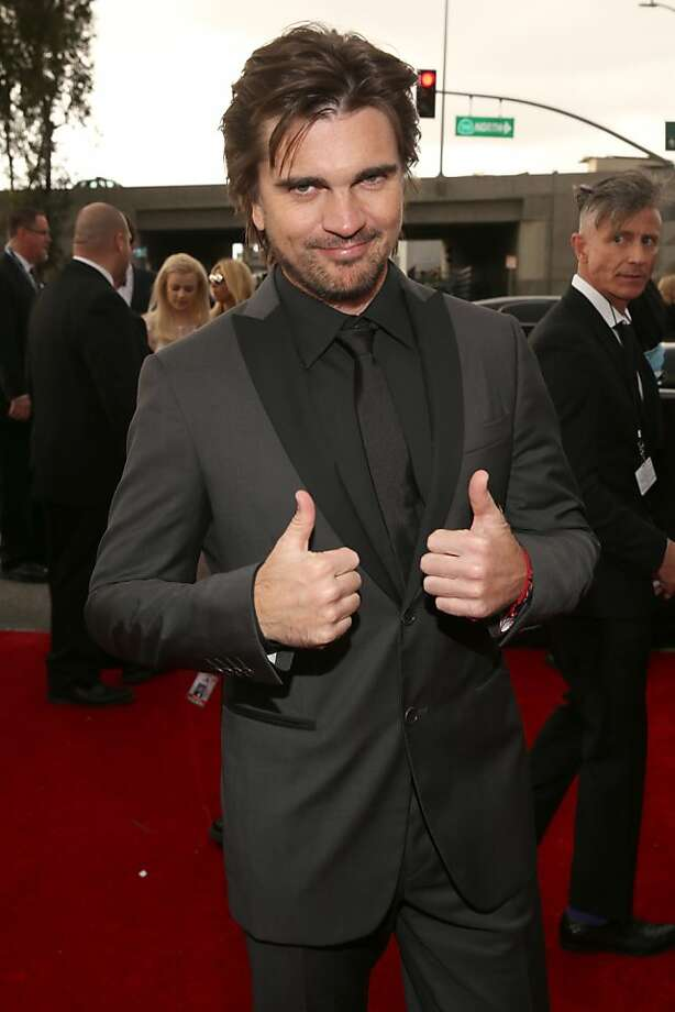 LOS ANGELES, CA - FEBRUARY 10:  Singer Juanes attends the 55th Annual GRAMMY Awards at STAPLES Center on February 10, 2013 in Los Angeles, California.  (Photo by Christopher Polk/Getty Images for NARAS) Photo: Christopher Polk, Getty Images For NARAS