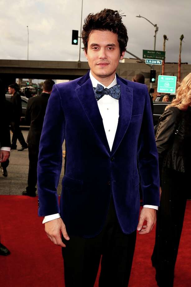 LOS ANGELES, CA - FEBRUARY 10:  John Mayer arrives at the 55th Annual GRAMMY Awards on February 10, 2013 in Los Angeles, California. Photo: Christopher Polk, Getty Images For NARAS / 2013 Getty Images