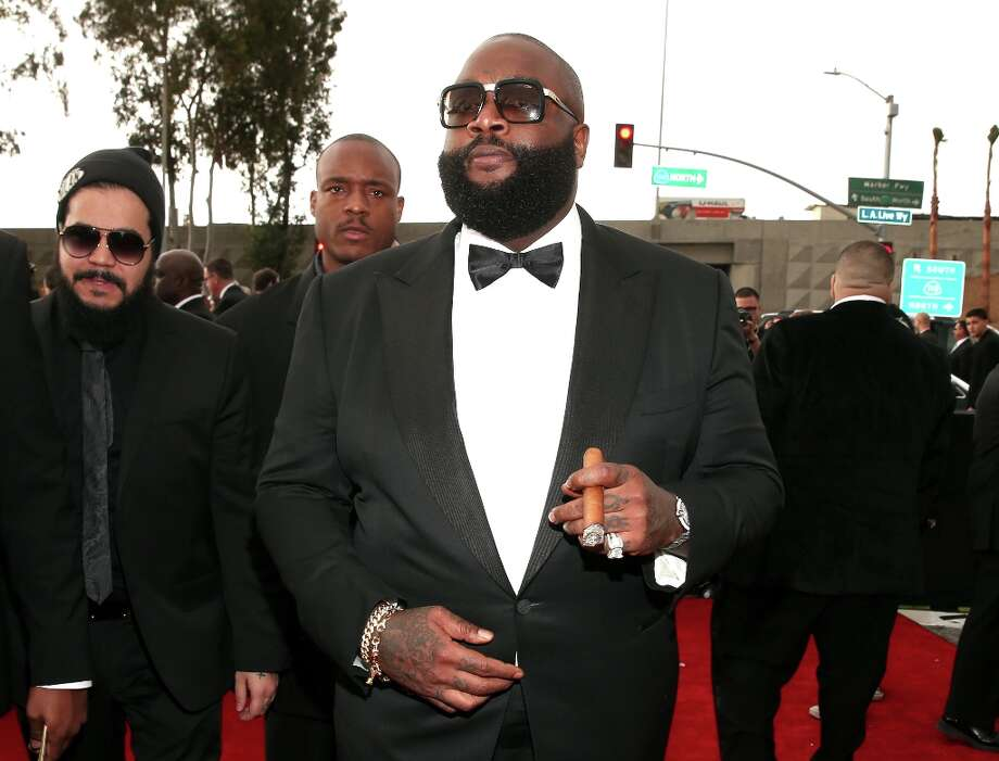 Rapper Rick Ross attends the 55th Annual GRAMMY Awards at STAPLES Center on February 10, 2013 in Los Angeles, California. Photo: Christopher Polk, Getty Images For NARAS / 2013 Getty Images
