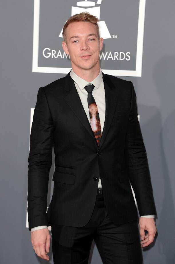 Producer  Diplo arrives at the 55th Annual GRAMMY Awards at Staples Center on February 10, 2013 in Los Angeles, California. Photo: Jason Merritt, Getty Images / 2013 Getty Images