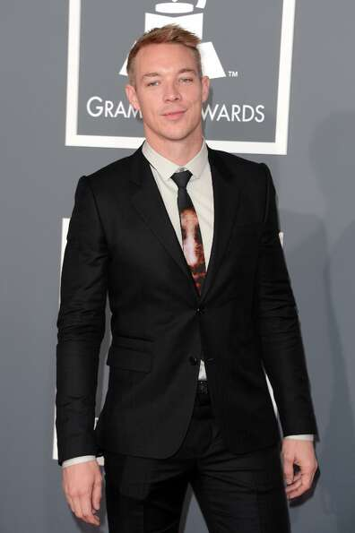 Producer  Diplo arrives at the 55th Annual GRAMMY Awards at Staples Center on February 10, 2013 in L