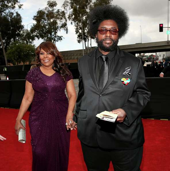 Questlove arrives at the 55th Annual GRAMMY Awards at STAPLES Center on February 10, 2013 in Los Ang