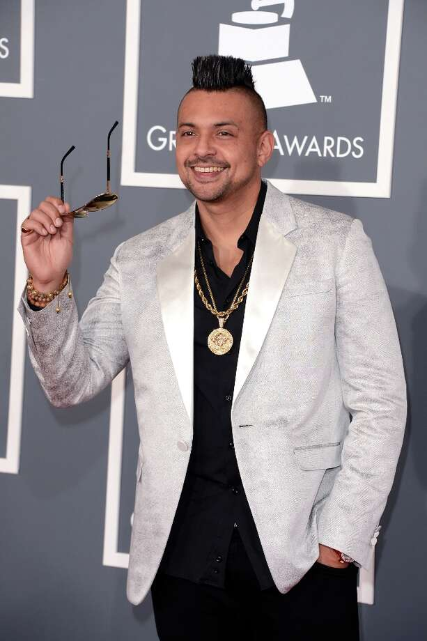 Singer Sean Paul arrives at the 55th Annual GRAMMY Awards at Staples Center on February 10, 2013 in Los Angeles, California. Photo: Jason Merritt, Getty Images / 2013 Getty Images